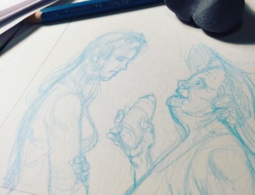 Sneak Peek: On My Drawing Board Today